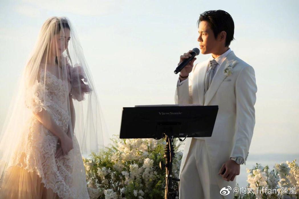 圖/擷自向太Tiffany陳嵐微博