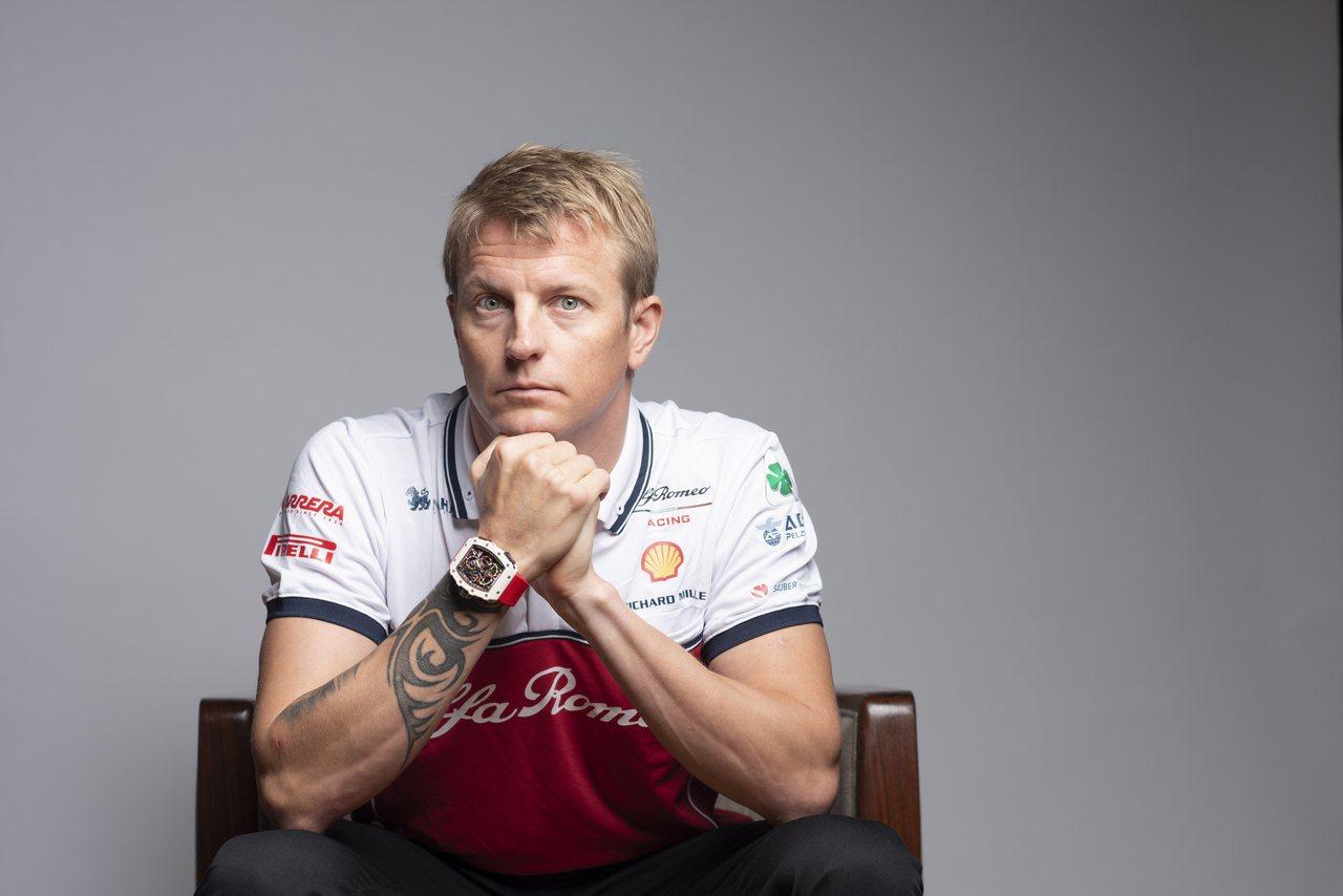 F1賽車好手「冰人」Kimi Räikkönen演繹全球限量30只的RM 50-...