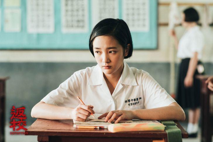 王淨在「返校」飾演學姊方芮欣。圖/影一提供