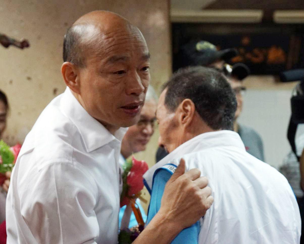 國民黨總統參選人韓國瑜。記者劉宛琳/攝影