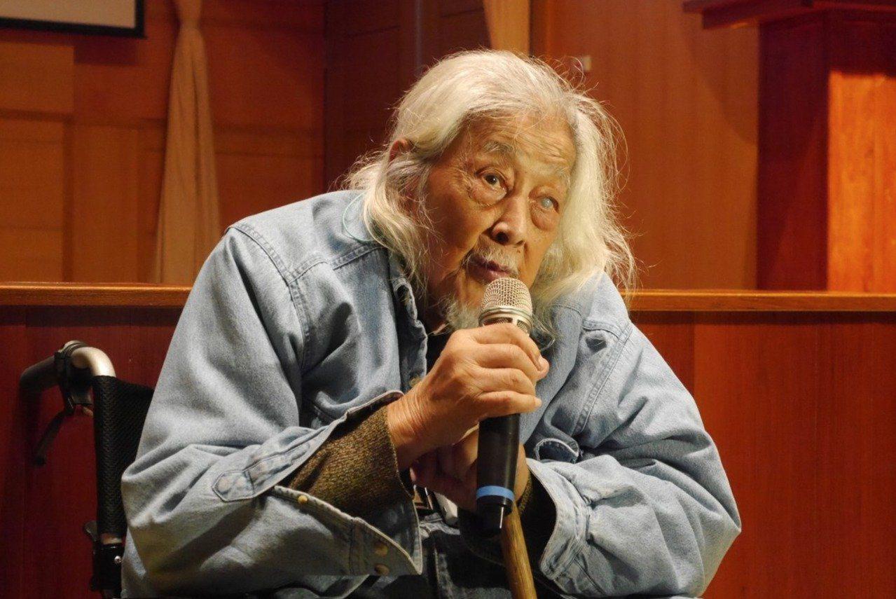 總統府資政、台獨精神領袖史明20日深夜辭世。 本報系資料照片