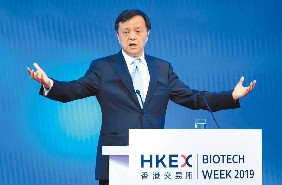 香港交易所行政總裁李小加。圖/中新社資料照片
