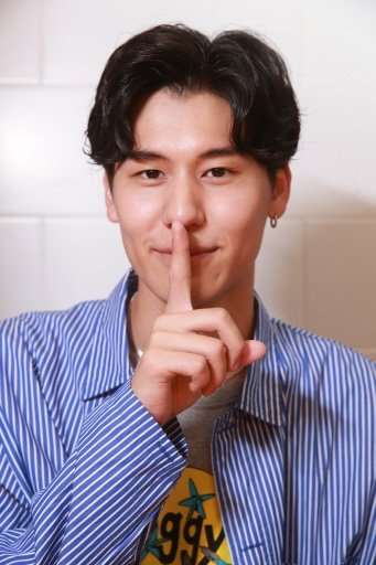 男團「SpeXial」日籍成員風田。記者黃義書/攝影