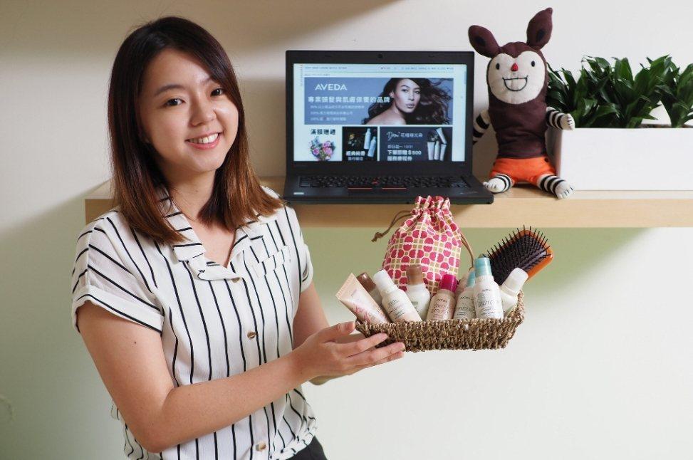 博客來與AVEDA攜手成立全台唯一官方授權線上旗艦店。圖/博客來提供