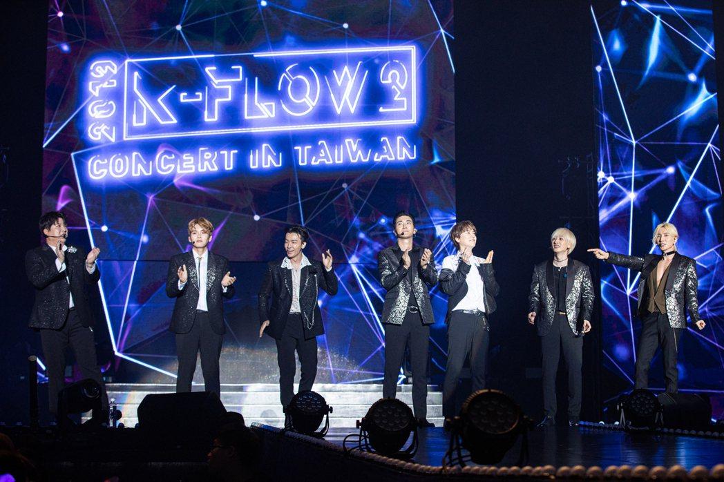 SJ開唱兼宣布新專輯與巡演進度,承諾Super Show 8一定來到台灣。圖/O...
