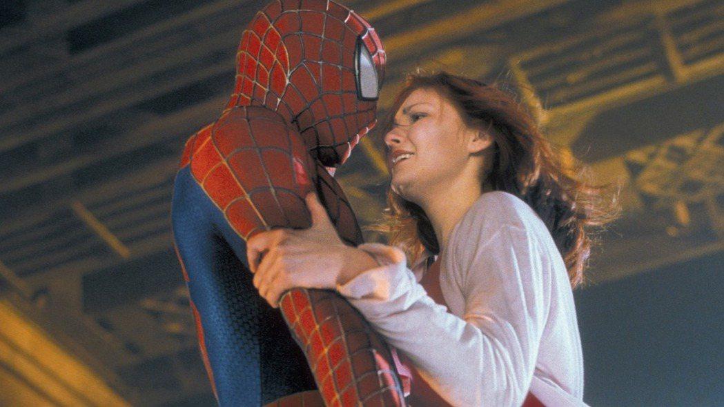 克絲汀鄧斯特在「蜘蛛人」系列影片中扮演女主角。圖/摘自imdb