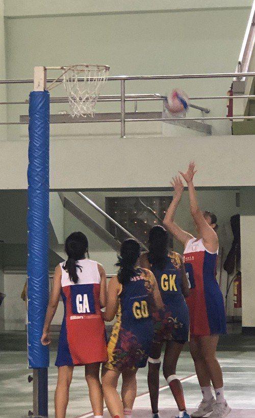 2019年台灣國際籃網球邀請賽。圖/主辦單位提供