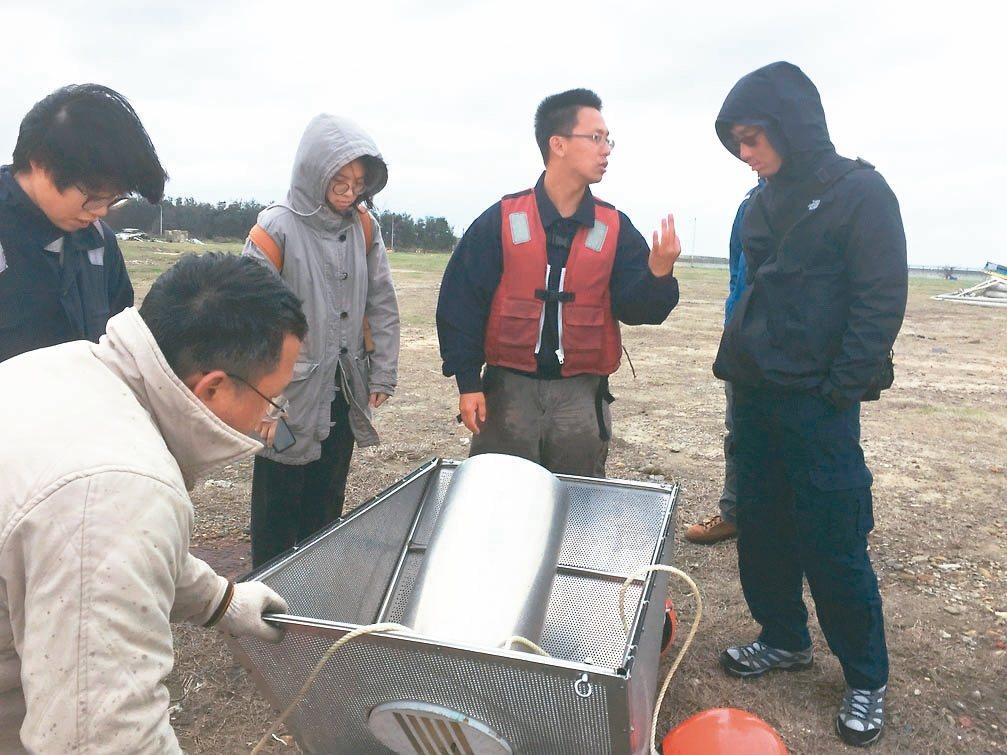點點塑環保公司研發過濾裝置,主要使命要協助清理海洋塑膠微粒汙染。 圖/點點塑提供