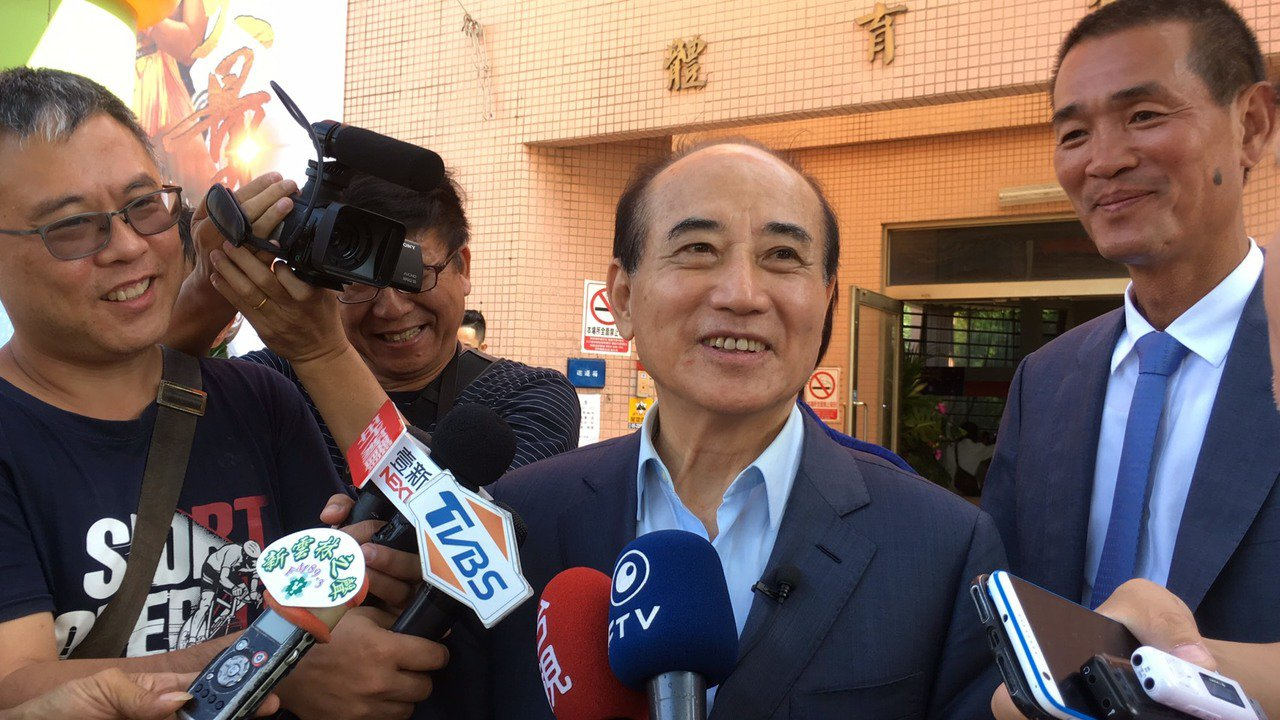 王金平昨表示與郭約定好,「他參選我支持,我參選他支持」,重申選到底。記者陳雅玲/...