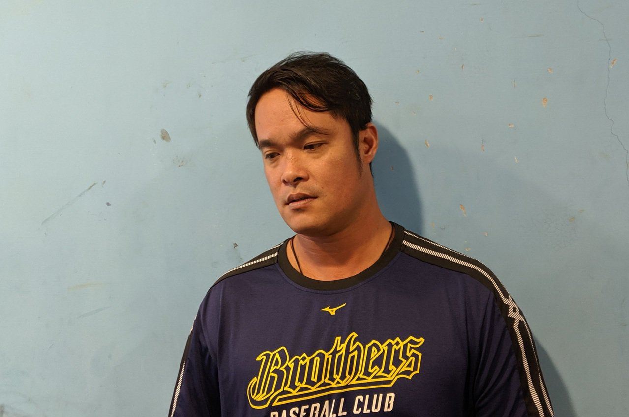 林智勝認為前東家桃猿隊轉賣很可惜。 記者蘇志畬/攝影