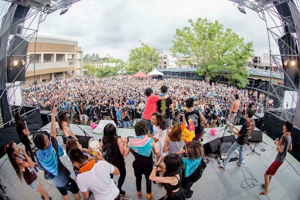 圖為2018年Wake up覺醒音樂祭在嘉義文創園區登場。圖/覺醒藝術提供