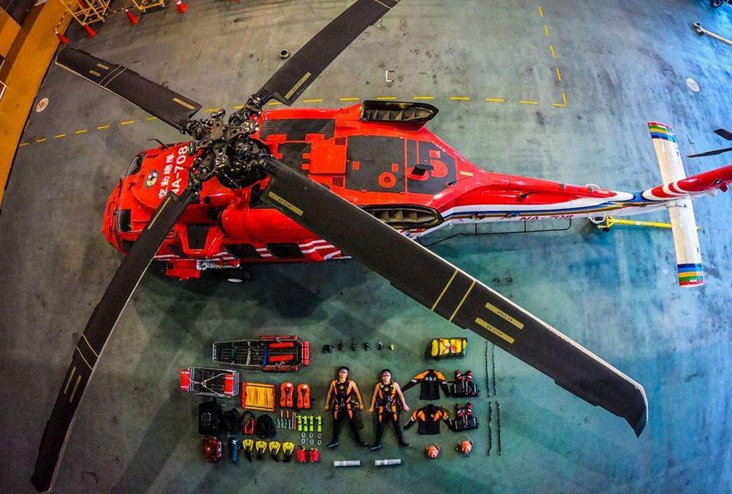 「海巡署長室Coast Guard」介紹海陸空戰力。圖/翻攝自海巡署長室Coas...