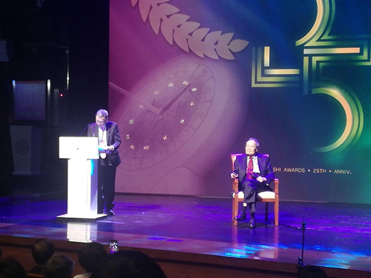 2019年求是獎頒獎典禮(取材自澎湃新聞)。