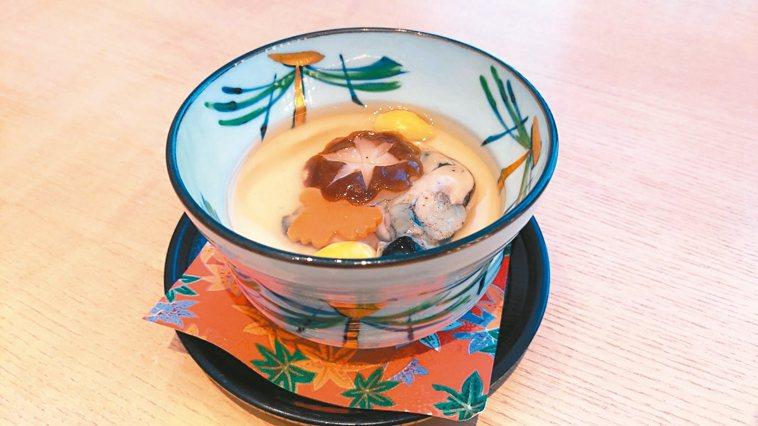 牡蠣蒸蛋 照片:加藤良一/提供