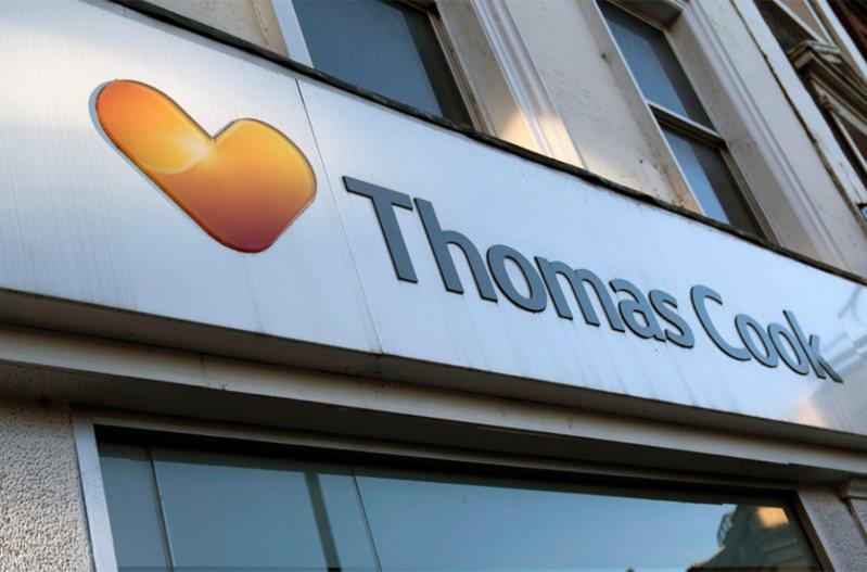 知名英國旅遊業者湯瑪斯庫克集團,公司營運陷入危機。 歐新社