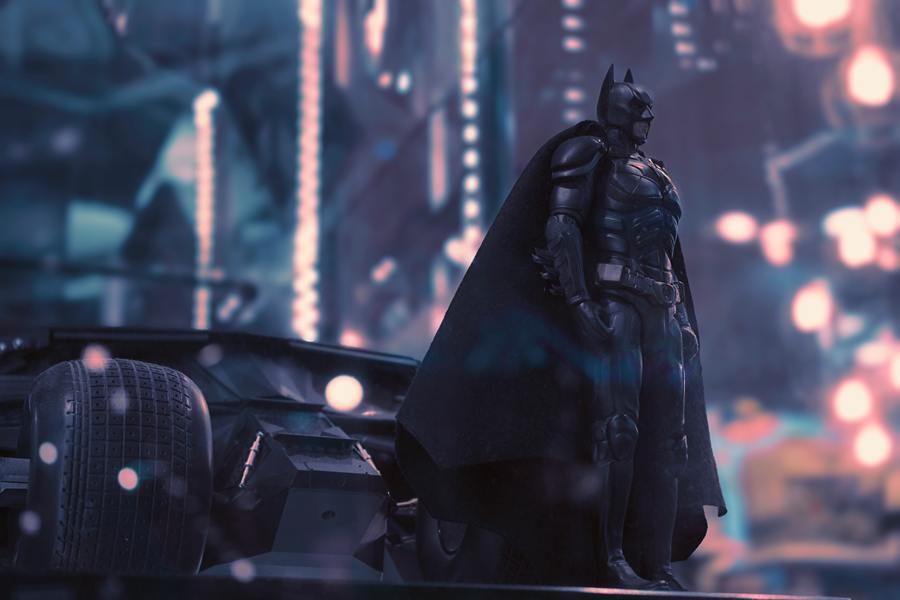 今年是蝙蝠俠誕生80周年,世界各地都紛紛向他致敬。(Photo by parth...