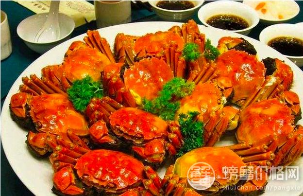 陽澄湖大閘蟹周一開捕,預計一隻能賣到280元。(螃蟹價格網)
