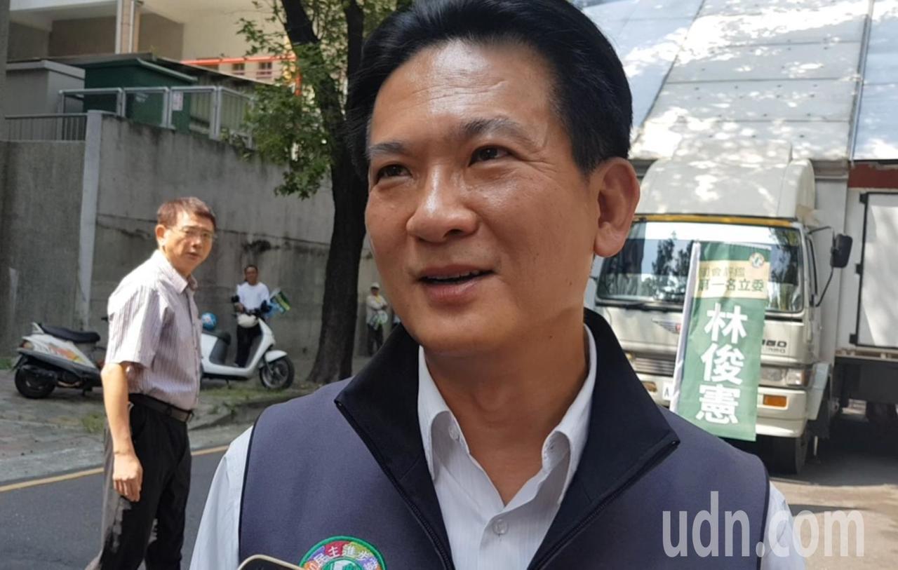 立委林俊憲。記者修瑞瑩/攝影
