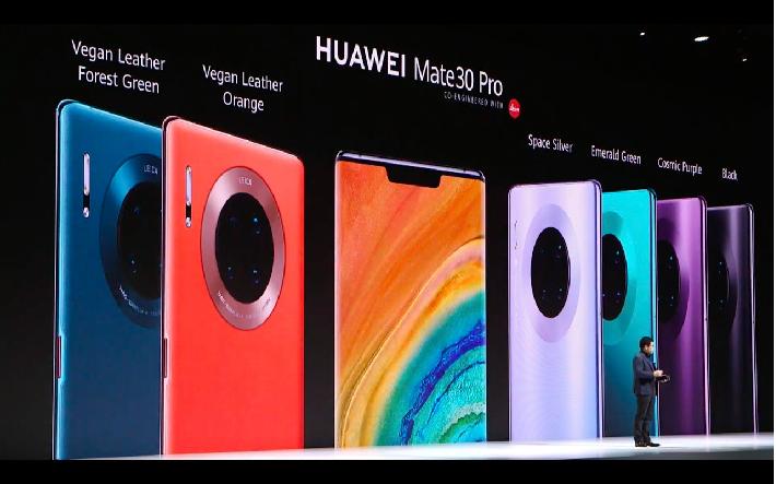 華為消費者業務CEO余承東接受外媒採訪時,表示可能會解鎖Mate 30系列手機的Bootloader(開機程式)功能。(香港01)