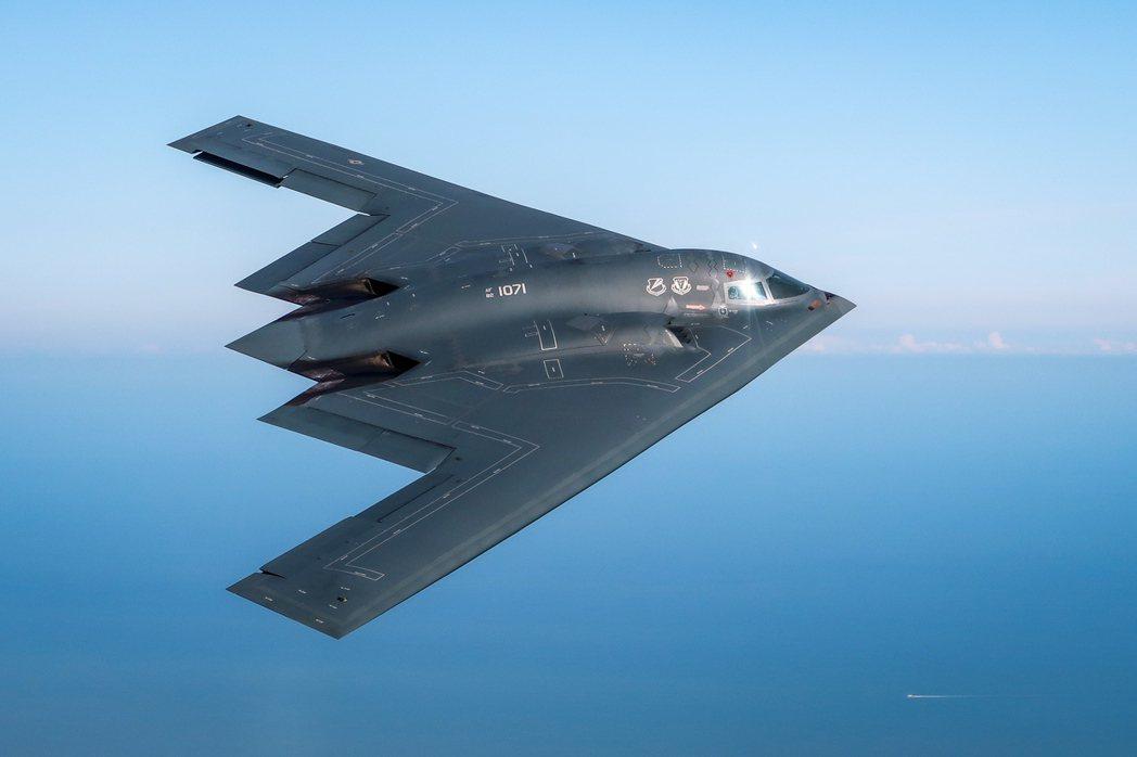 B-2匿蹤轟炸機。(歐新社)