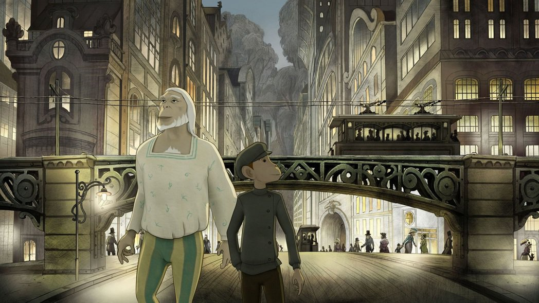 「嚕嚕米漫遊蔚藍海岸」導演新作「王子的時空旅程」打造一場猴王子與男孩的奇幻情誼。