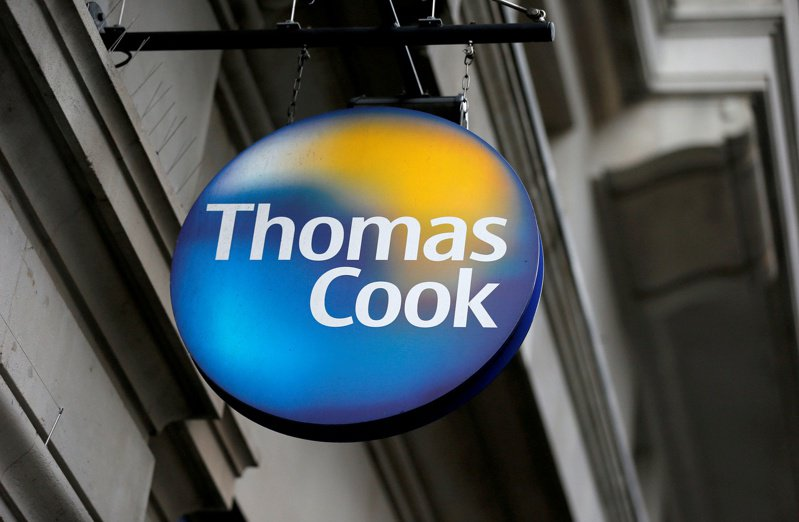 英國最老牌的旅行社Thomas Cook可能瀕臨破產,在銀行的要求下,還需再籌措2億英鎊資金。  路透