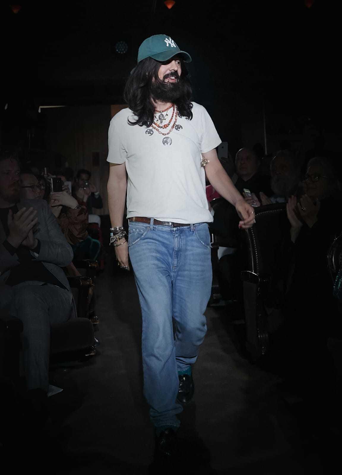 Gucci創意總監Alessandro Michele。圖/Gucci提供