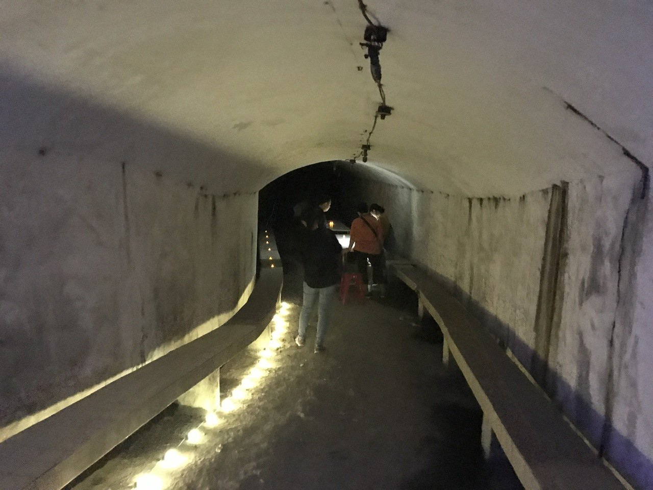影╱打開基隆港西岸防空洞 寫封信看場電影好有FU