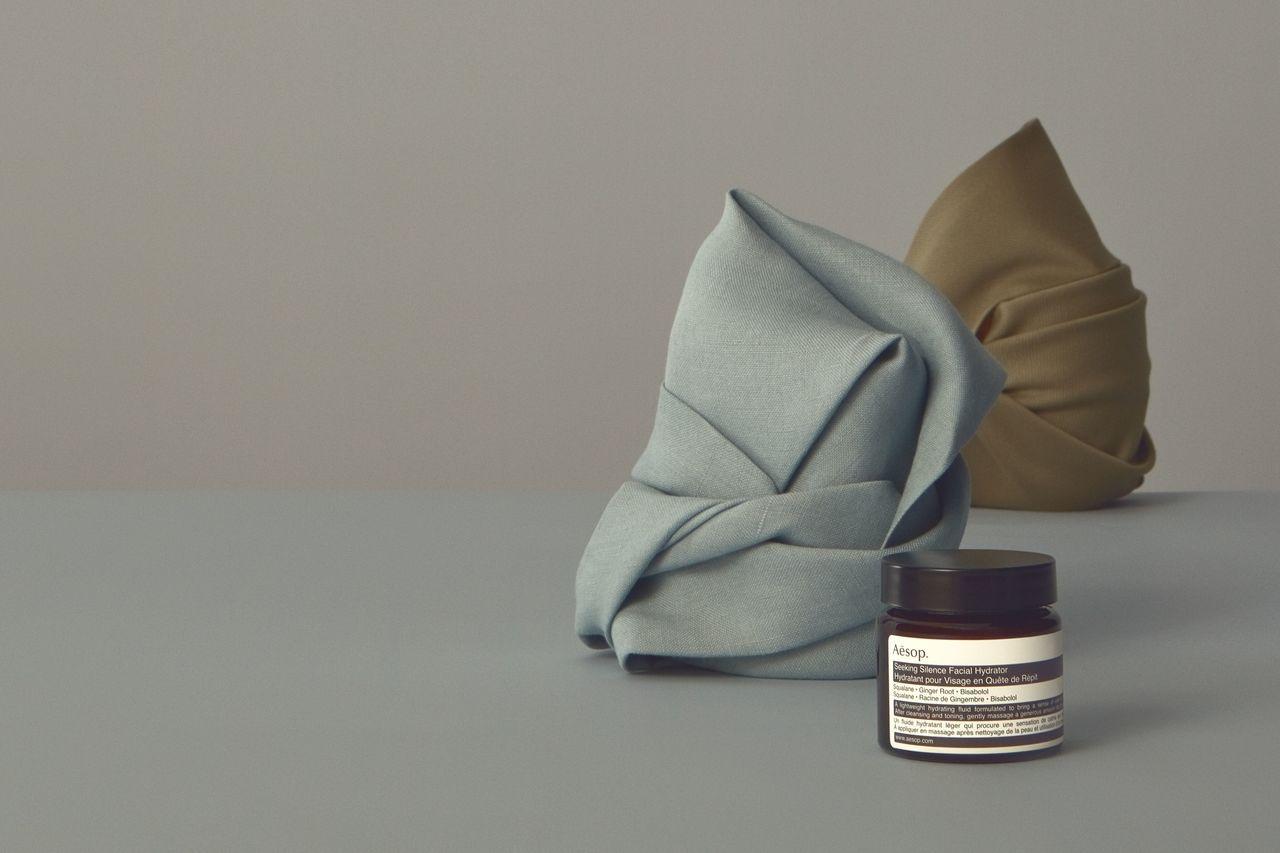 Aesop「覓靜保濕精華乳」60mL 售價1,750元。圖/Aesop提供