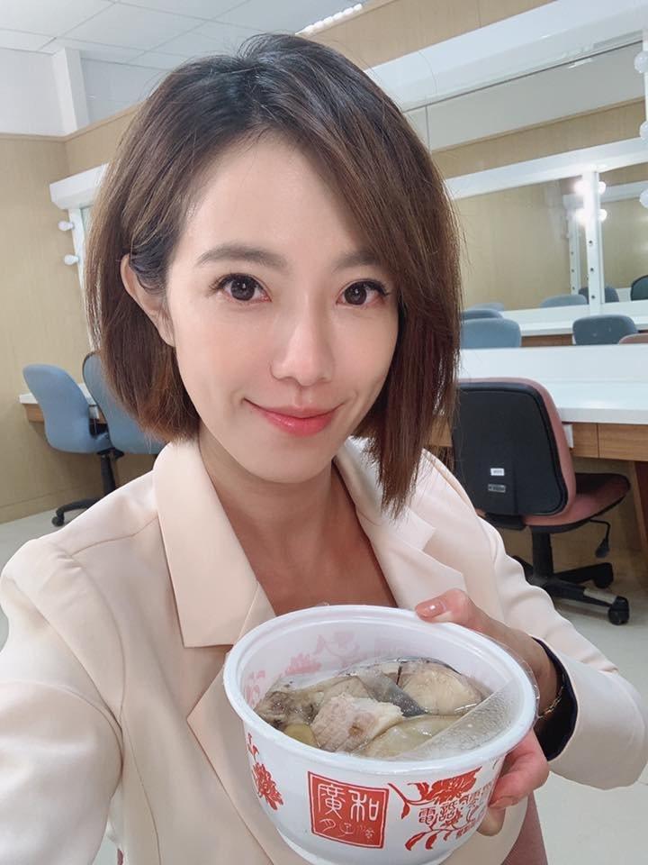 黃瑄爆第二胎引產,吃月子餐調養身體。圖/摘自臉書
