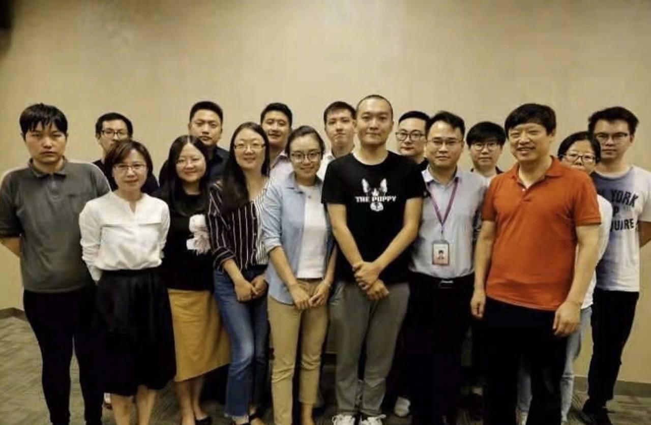 環球時報召開香港報道表彰會。付國豪獲10萬元人民幣的最高獎。 圖/取自胡錫進微博
