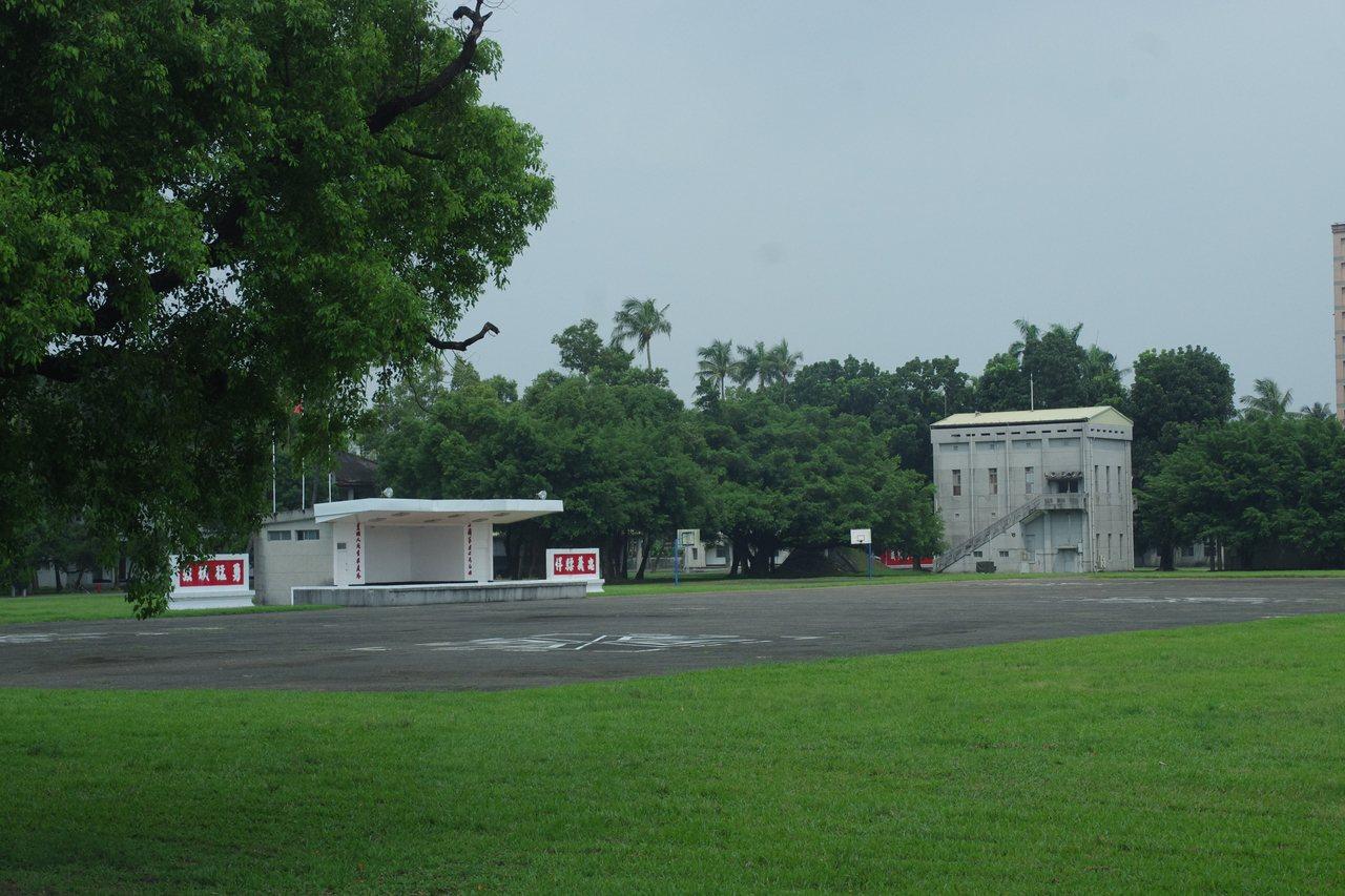 大武營區的大操場,下月起就將走入歷史。記者程嘉文/攝影
