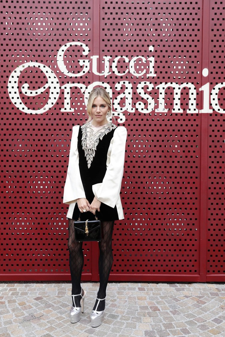 英國女星席安娜米勒。圖/Gucci提供