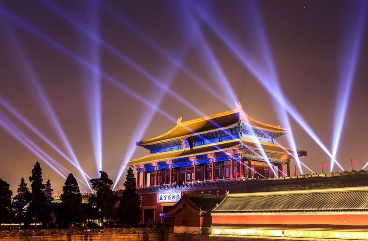 北京故宮今年上演「紫禁城上元之夜」元宵節文化活動。圖/翻攝自視覺中國
