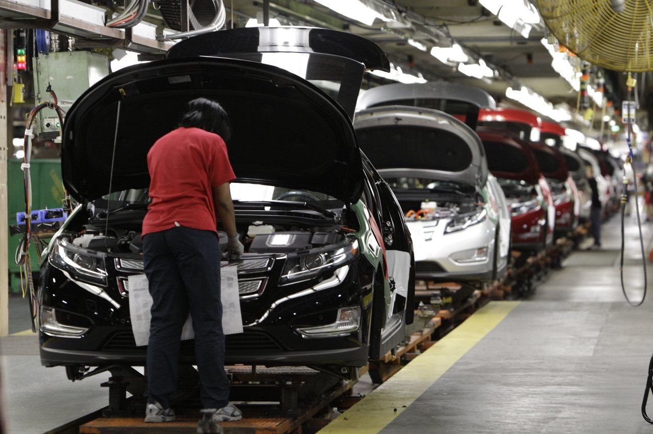 儘管川普放寬燃油標準,底特律汽車工業仍朝高燃油效率汽車邁進。(美聯社)