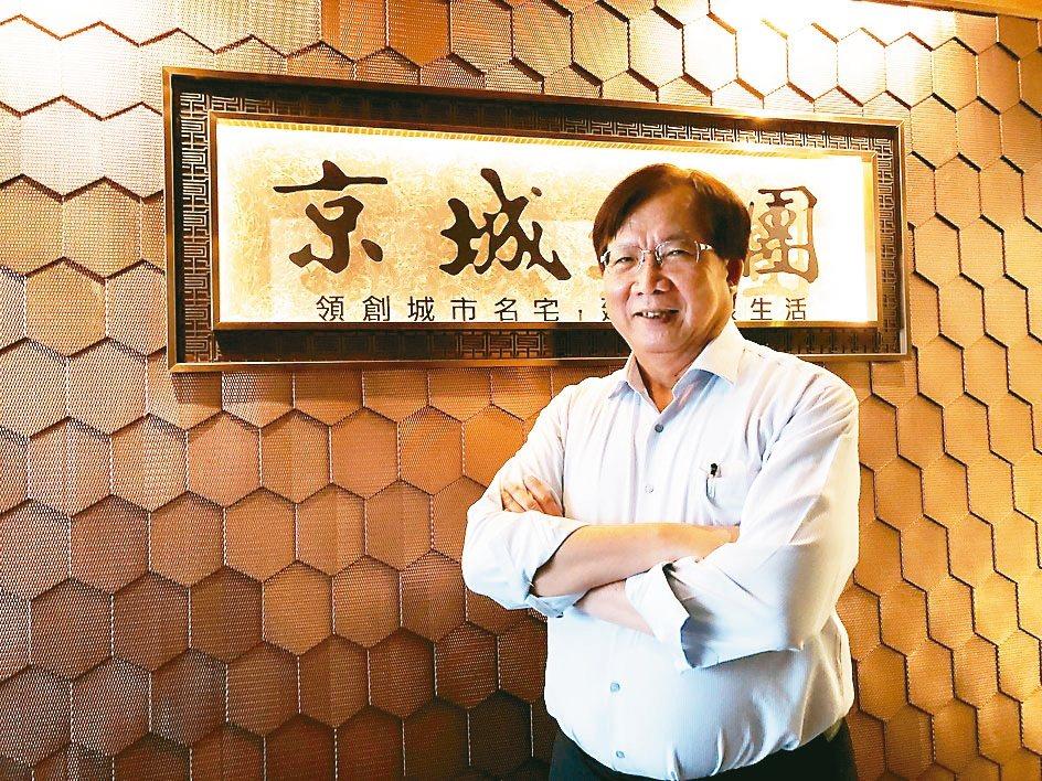 京城建設總經理陳添進