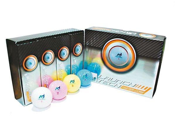 明揚生產的高爾夫球產品
