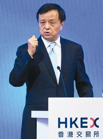 港交所行政總裁李小加。 中新社