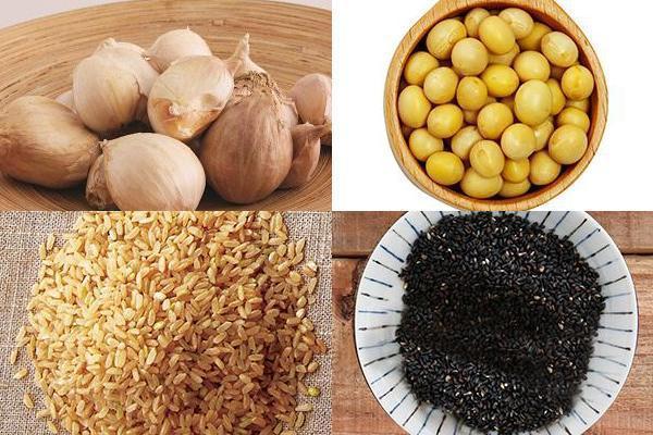 蒜頭、黃豆、糙米、芝麻…等食物發芽後吃更營養。 圖片來源/王正毅、璞真奕睿影像公...