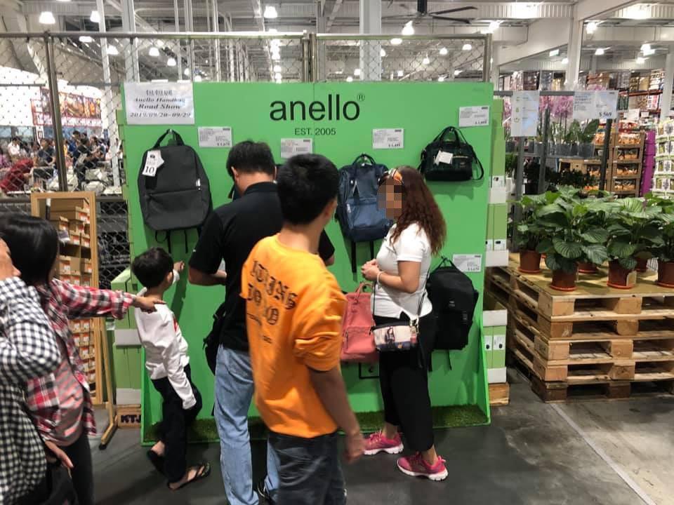 日前一名女網友到好市多購物時,意外發現一款「日本名牌爆紅後背包」,而且售價比網購...