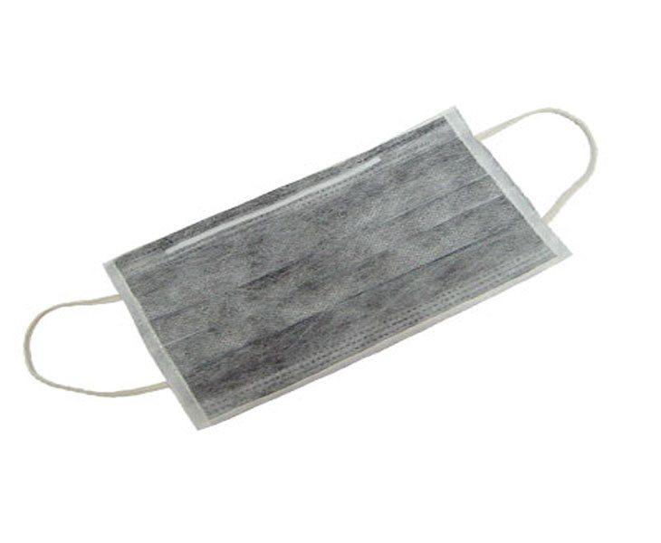 活性碳口罩。 聯合報系資料照