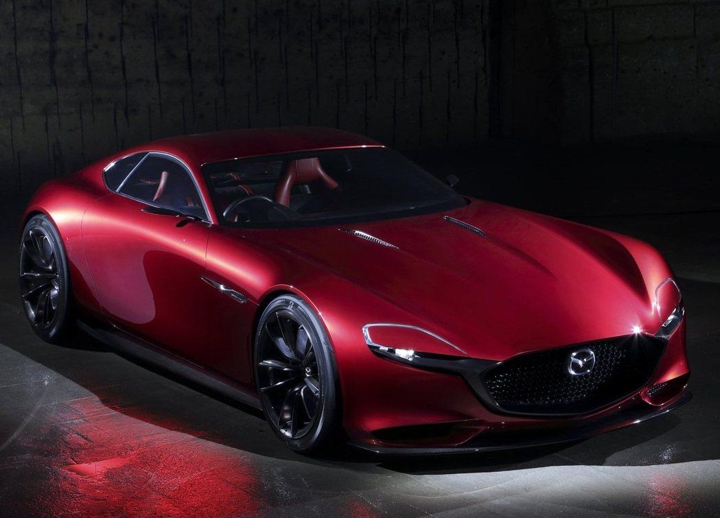 Mazda RX-Vision Concept。 摘自Mazda