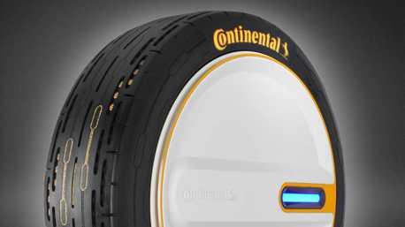 Continental馬牌輪胎黑科技!輪胎可於行駛時主動調節胎壓