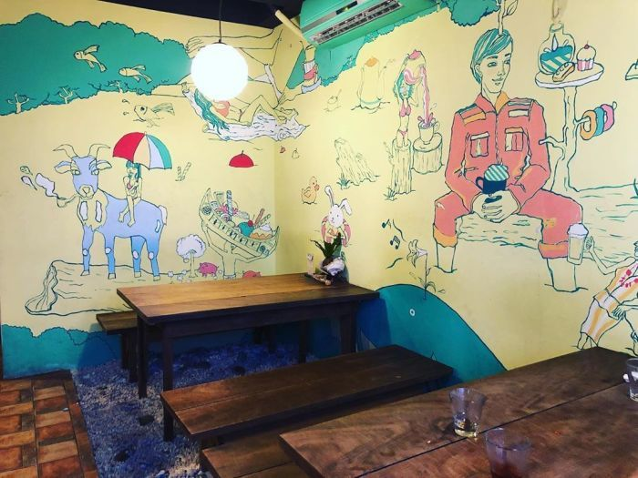 蘭嶼漂流木餐廳。 圖/IG, cathychang323