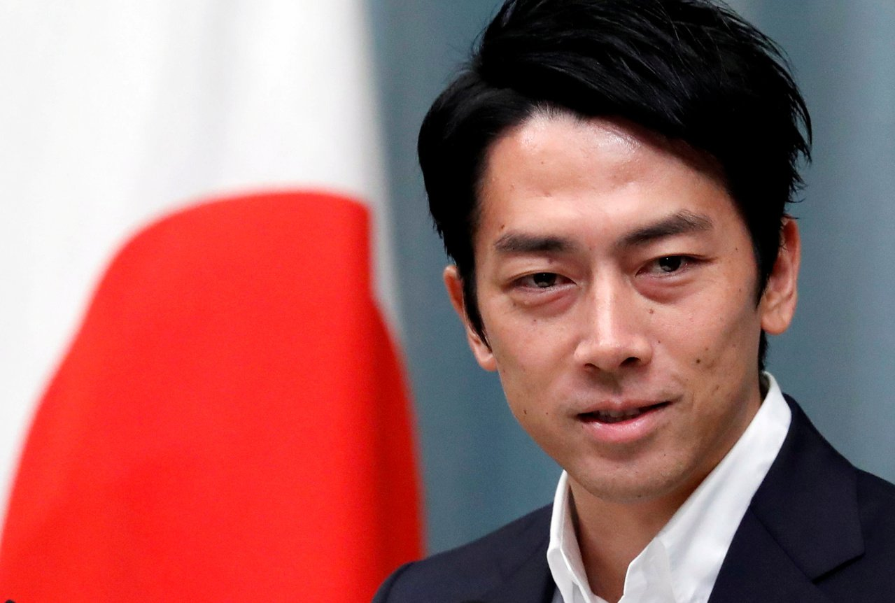 日本新任環境大臣小泉進次郎說,將動員年輕人,讓對抗氣候變遷的過程變得「性感」和「...