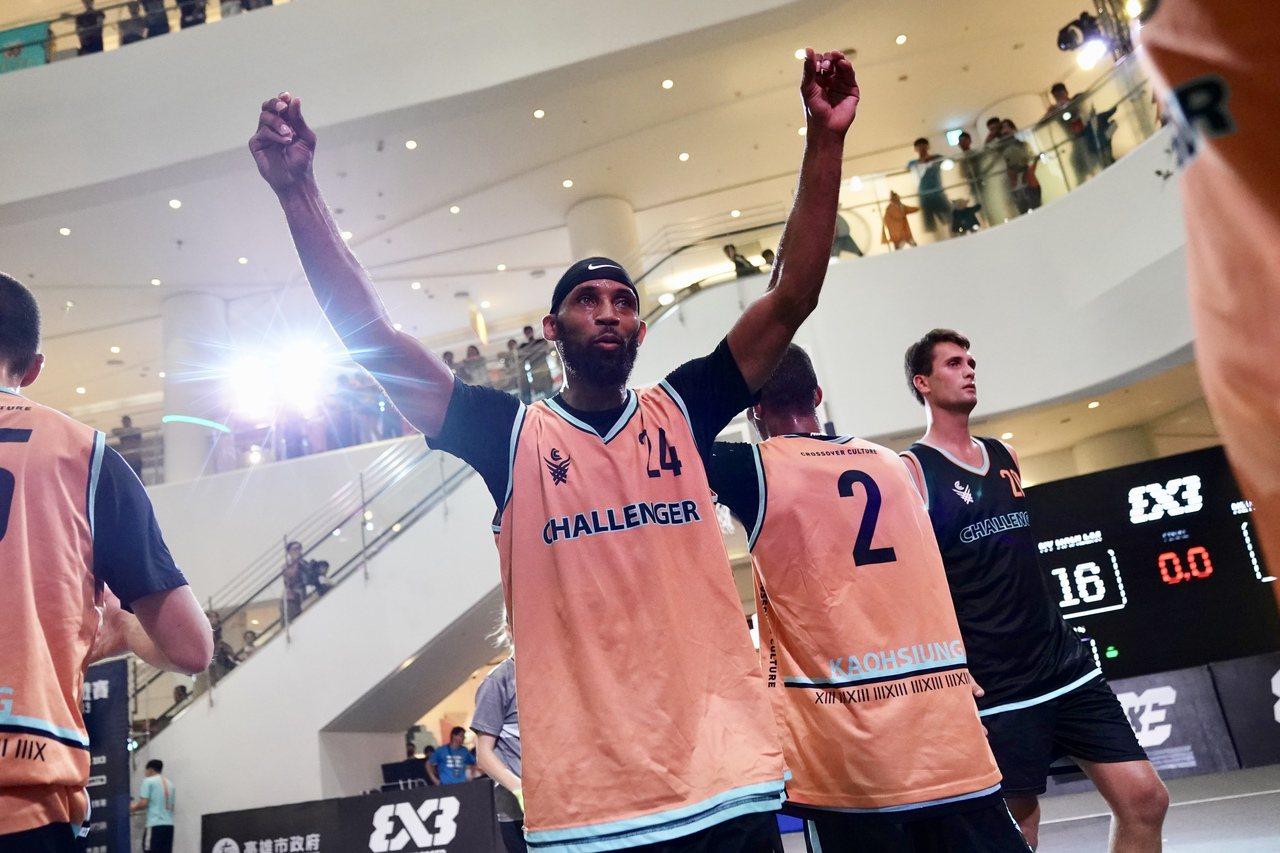 美國紐約NY Harlem勇奪2019 FIBA 3x3高雄挑戰賽冠軍。圖/主辦...