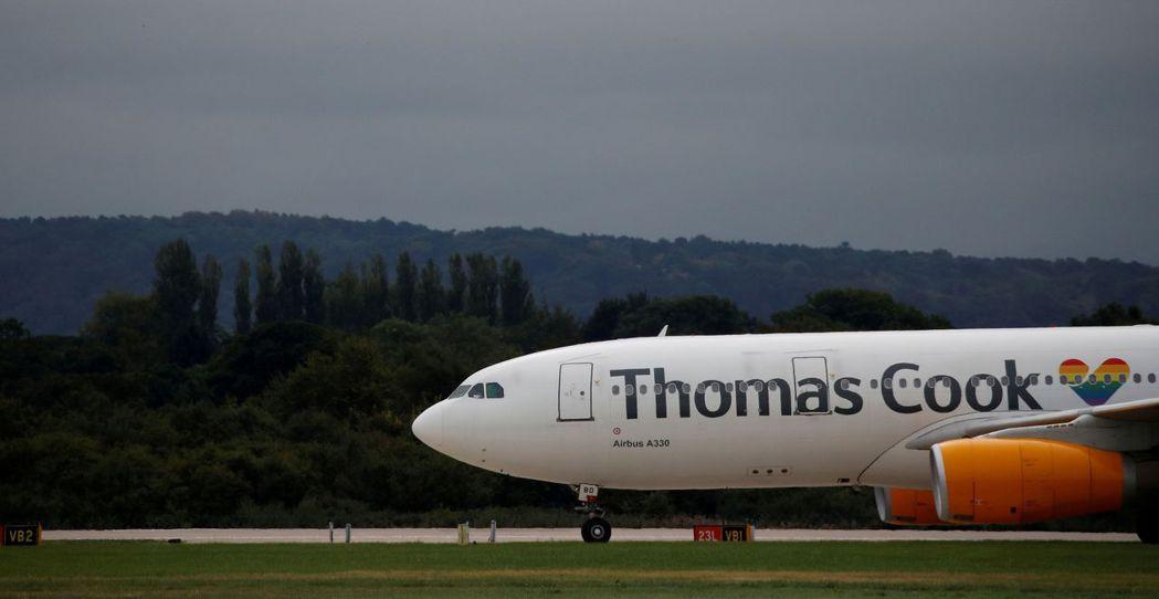 Thomas Cook形同英國企業品牌的代名詞。路透