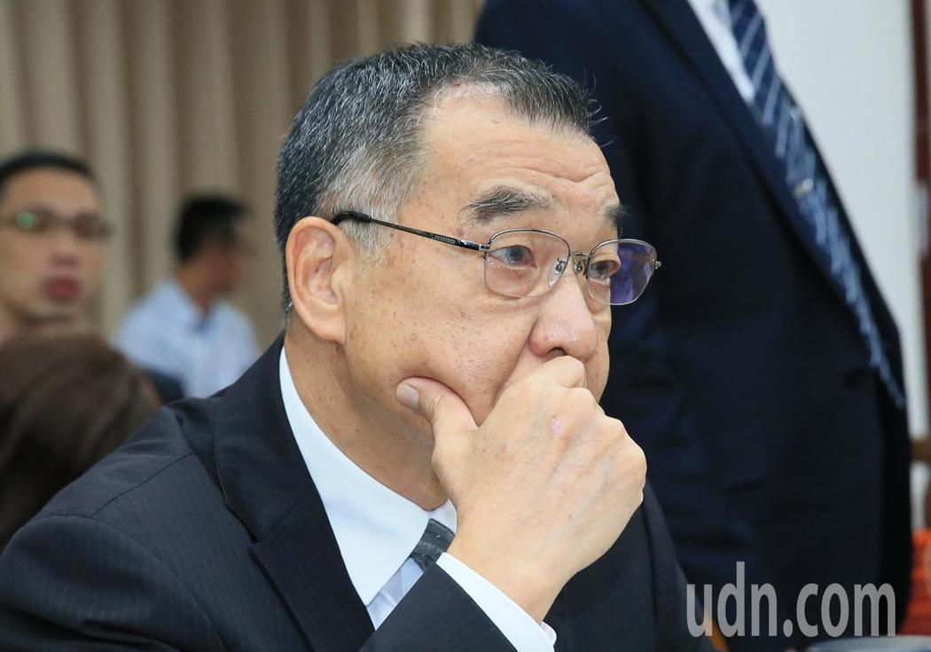 國安局長邱國正。記者潘俊宏/攝影