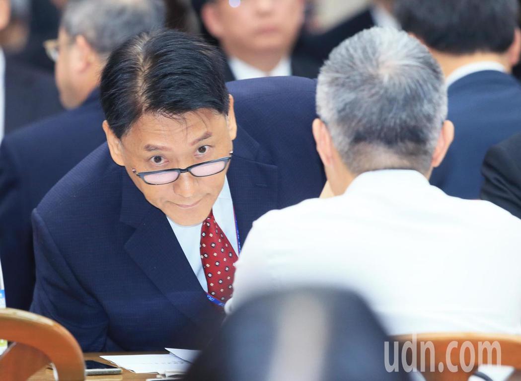 華膳空廚總經理安隆祺(左)出席。記者潘俊宏/攝影