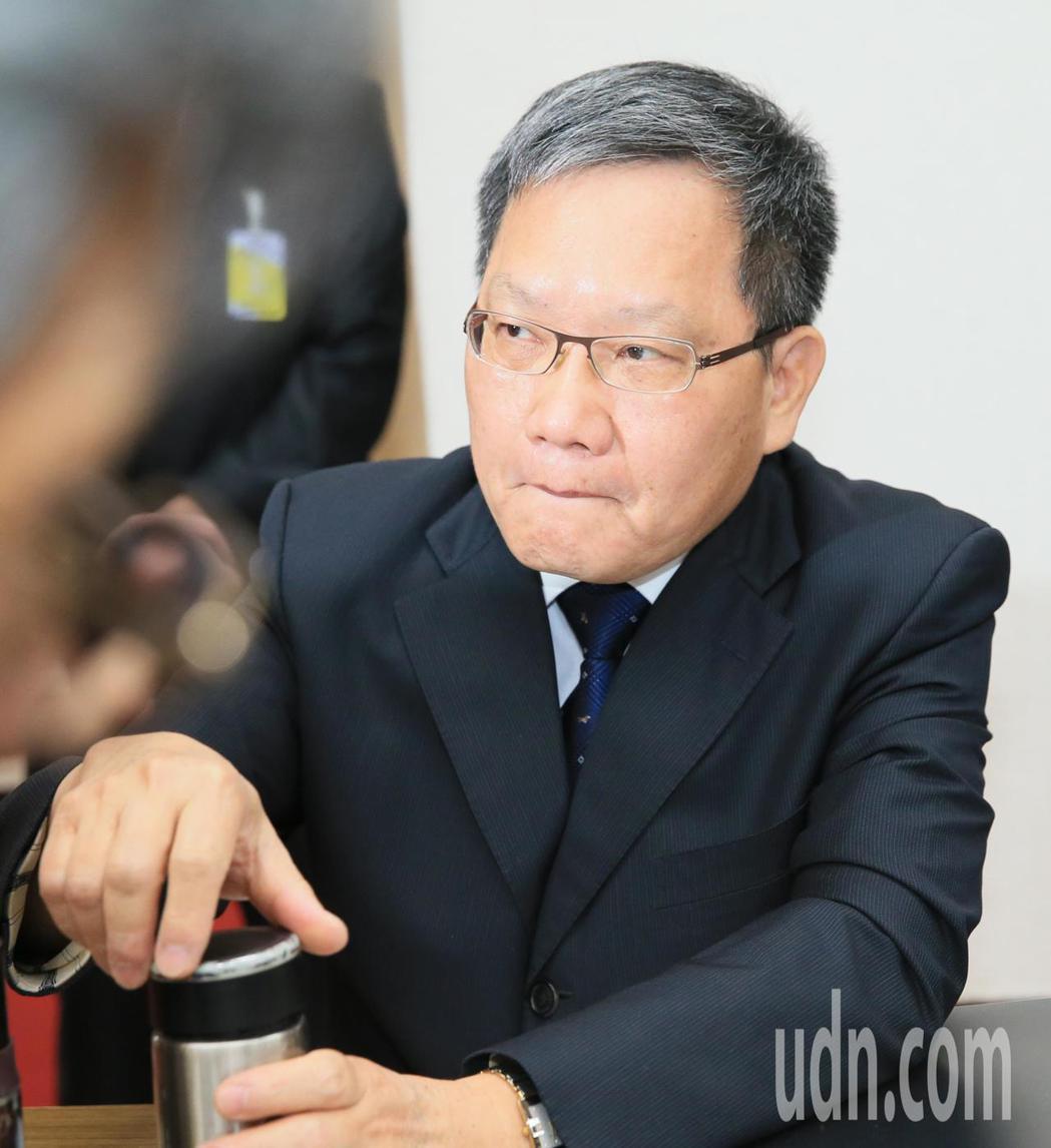 財政部長蘇建榮。記者潘俊宏/攝影
